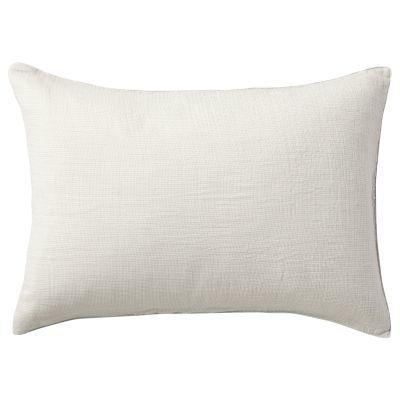 베개 커버 · 43×63 · 라이트그레이 미니체크 · 삼중 가제