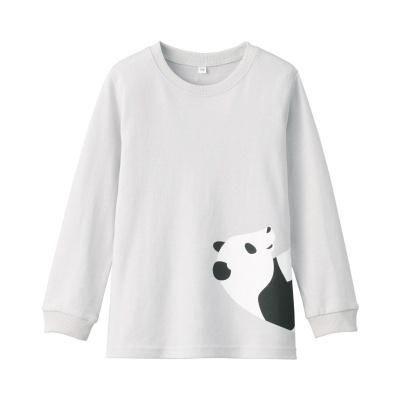 저지 · 프린트 긴소매 티셔츠 · 키즈