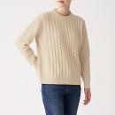 케이블 패턴 · 크루넥 스웨터