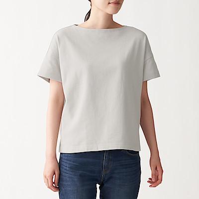 태번수 저지 · 보트넥 와이드 티셔츠