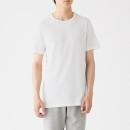 산뜻한 면 · 크루넥 반소매 티셔츠