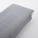 얇은 이불 · S · 네이비 스트라이프 · 면 서커