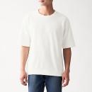 슬러브 와플 편직  · 반소매 티셔츠