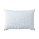 베개 커버 · 50×70 · 블루 스트라이프 · 면 서커
