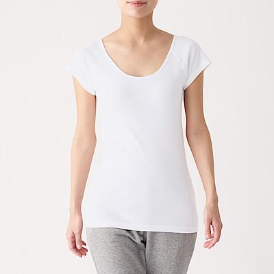 인도 면 후라이스 · 프렌치 슬리브 티셔츠 2장세트