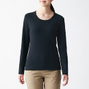 스트레치 후라이스 · 크루넥 긴소매 티셔츠