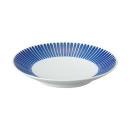 하사미야키 접시ㆍ세로줄무늬ㆍ직경 15.5cm