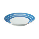 하사미야키 접시ㆍ 굵은줄무늬ㆍ직경 15.5cm