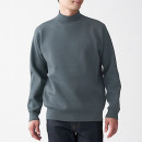 울 혼방 더블 페이스 · 하이넥 스웨터