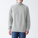 목이 편한 고무뜨기 · 터틀넥 스웨터