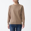 UV컷 코튼 실크 · 크루넥 스웨터