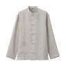 프렌치 리넨 워싱 · 매듭 단추 셔츠 상품이미지