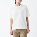 UV컷 강연 · 반소매 니트 티셔츠