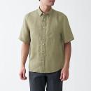 프렌치 리넨 워싱 · 반소매 셔츠