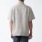 추가이미지2(프렌치 리넨 워싱 · 오픈 칼라 반소매 셔츠)