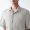 추가이미지3(프렌치 리넨 워싱 · 오픈 칼라 반소매 셔츠)