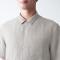 추가이미지4(프렌치 리넨 워싱 · 오픈 칼라 반소매 셔츠)