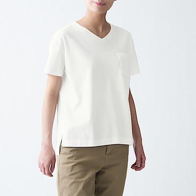 슬러브 저지 · V넥 티셔츠